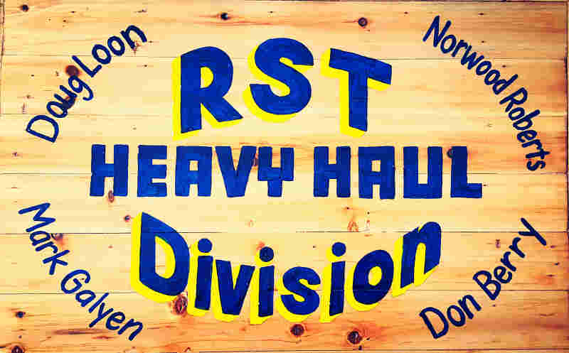 RST - Heavy Haul Plaque